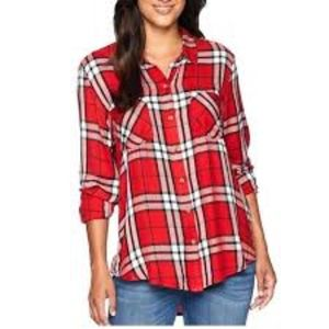 NWOT- Lucky Brand Flannel Top!!